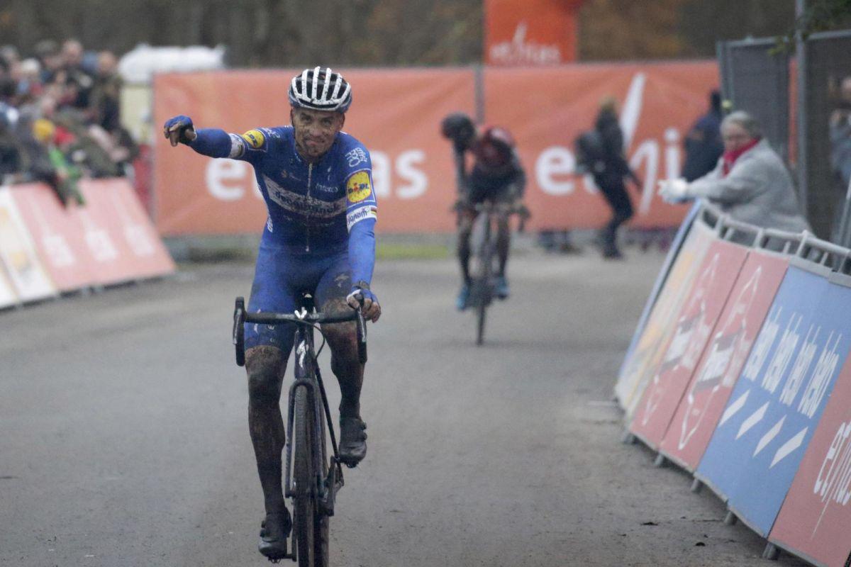 Stybar enjoys 'tough' cyclo-cross return at Ethias Cross