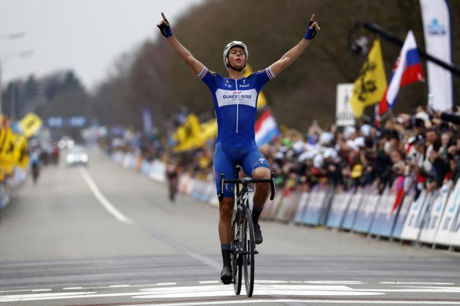 Niki Terpstra (Quick-Step Floors) wins the 2018 Tour of Flanders