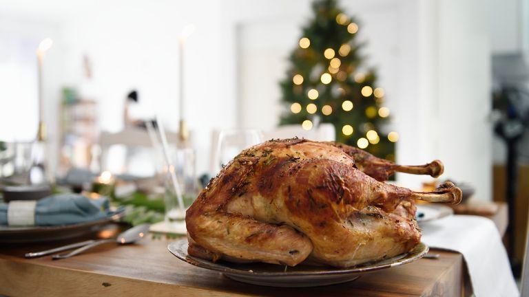 christmas turkey size