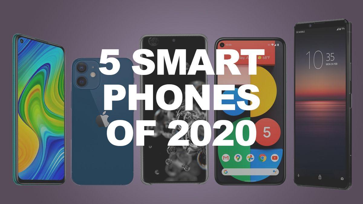 5 smartphones that blew us away in 2020