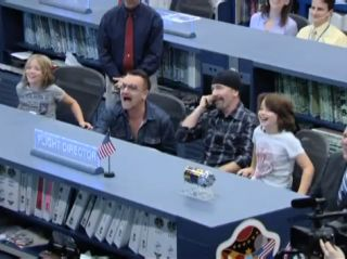 U2 Makes Outer Space Call