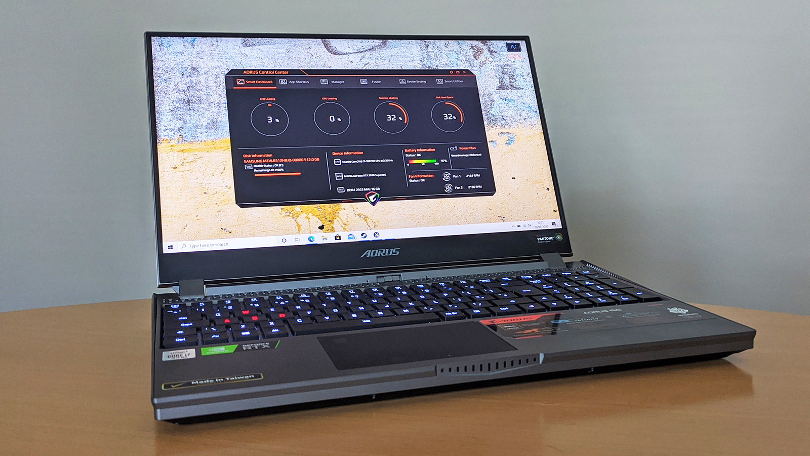 Gigabyte Aorus 15g Review A Compact Gaming Laptop With A Mechanical Keyboard T3
