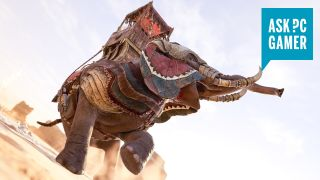 Stampeding Elephant from Assassin's Creed Odyssey