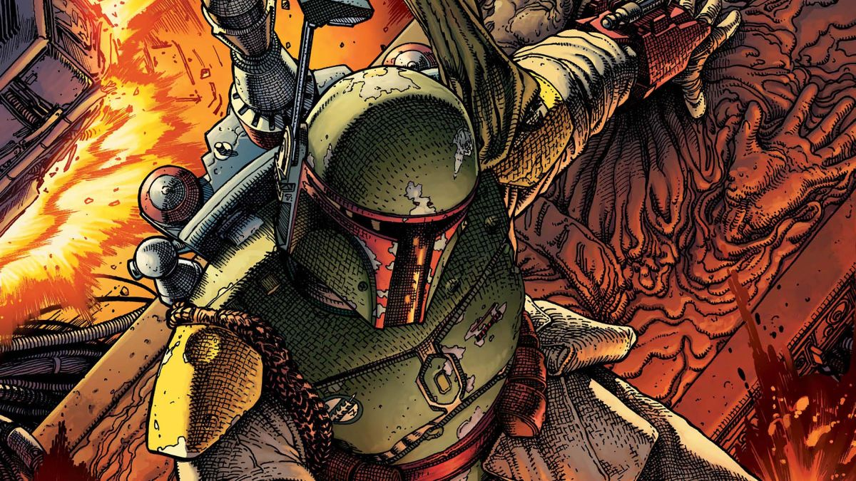 Boba Fett takes on the galaxy in Marvel Comics' daring new collection 'Star Wars: Battle of the Bounty Hunters'