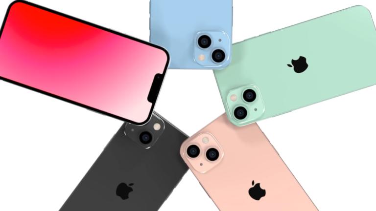 iPhone 13 concept - smaller notch