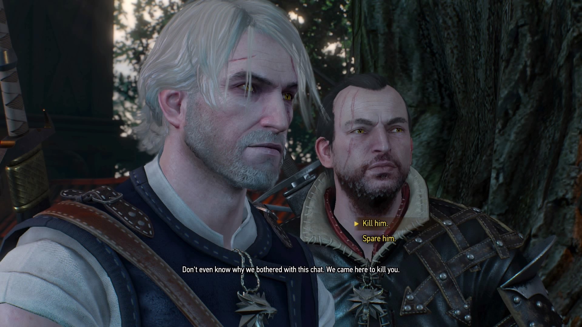 The Witcher 3 Following the Thread mission: find a contract in Hierarch  Square and defeat an Ekimmara with Lambert | GamesRadar+