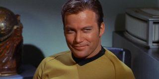 William Shatner as Captain James T. Kirk on Star Trek