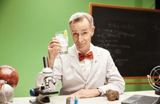 Bill Nye quenches his thirst and explores our future on Mars in a new ad for SodaStream.