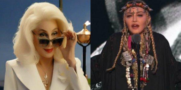 Cher Mamma Mia: Here We Go Again/ Madonna VMAs 2018