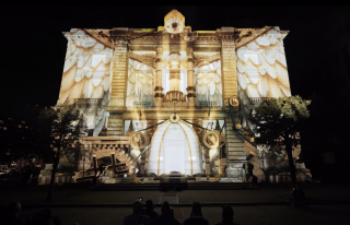 At the 2019 LUMA Projection Arts Festival, Pandora's Box took attendees on a breathtaking journey through ancient Greek mythology.