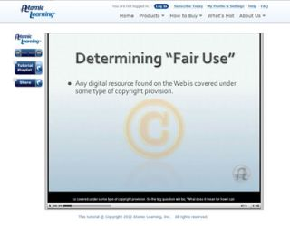 "Video Tutorial: Determining ""Fair Use"" for Web Resources"
