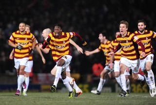 Soccer – Capital One Cup – Quarter Final – Bradford City v Arsenal – Coral Windows Stadium