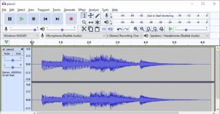 How to convert a stereo audio file to mono using Audacity