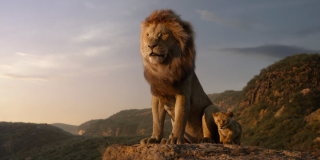 Mufasa in The Lion King 2019 remake