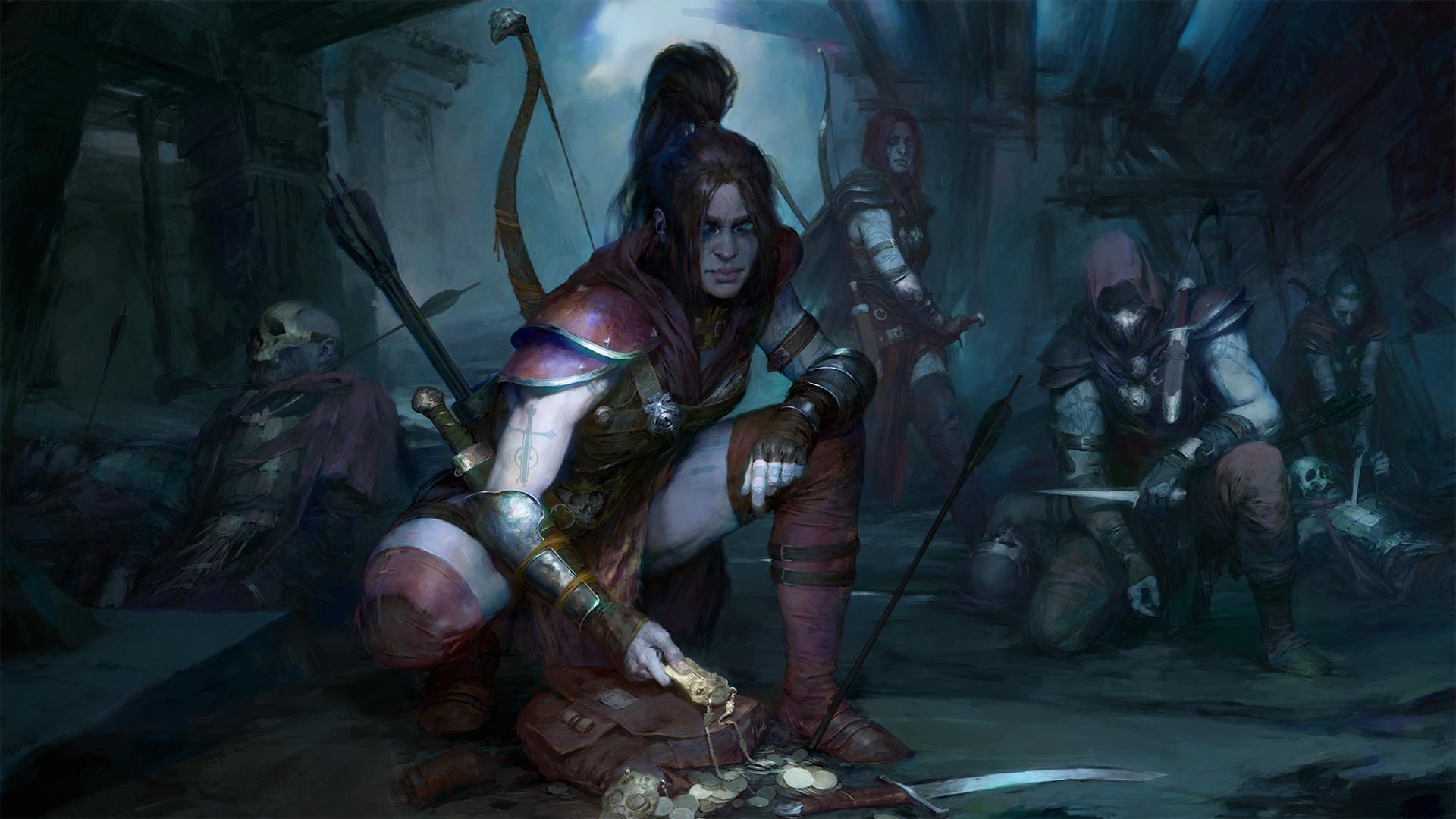 Diablo 4 will include a Rogue class