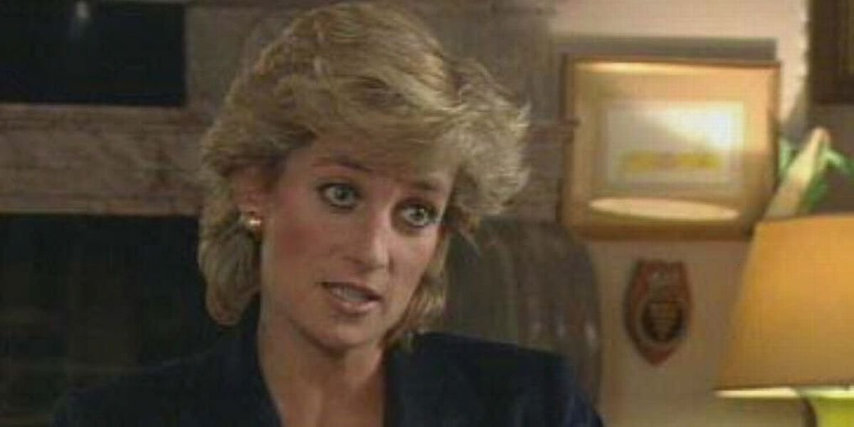 Princess Diana in a BBC interview