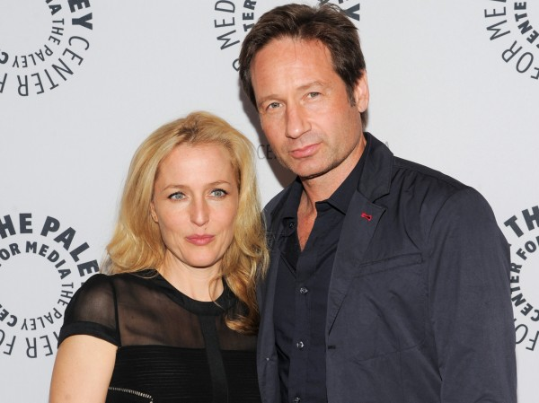 Gillian Anderson and David Duchovny star in The X-Files
