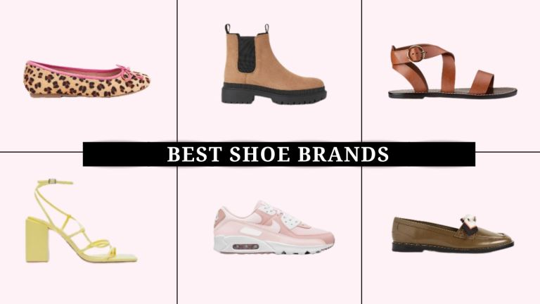 Collage of shoes styles