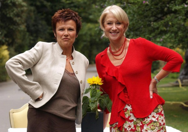 Helen Mirren and Julie Walters starred in Calendar Girls the movie (Yui Mok/PA)