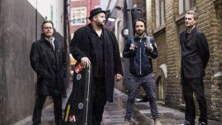 A press shot of Big Boy Bloater and his band