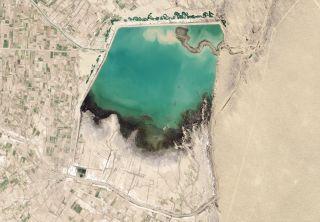 The Hanhowuz Reservoir of Turkmenistan