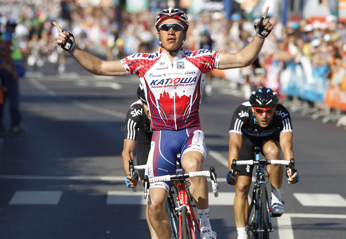 Denis Galimzyanov wins, Tour of Luxembourg 20911, stage one