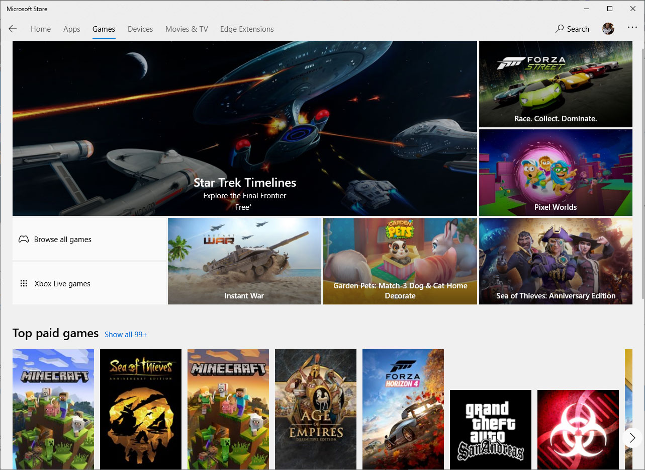A new Windows 10 setting could make some Windows Store games