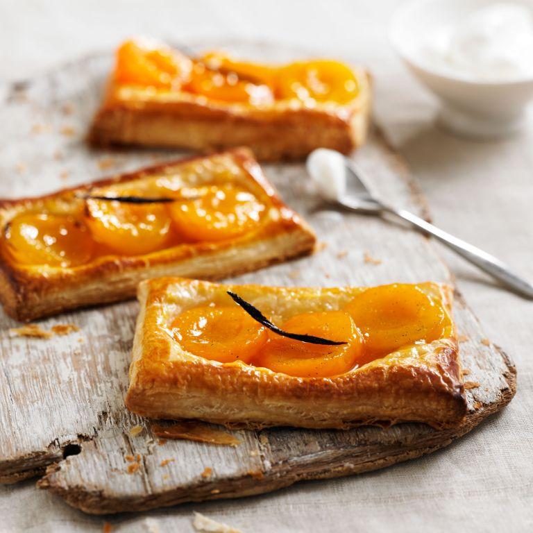 Apricot & Vanilla Tartlets recipe-Apricot recipes-recipe ideas-new recipes-woman and home