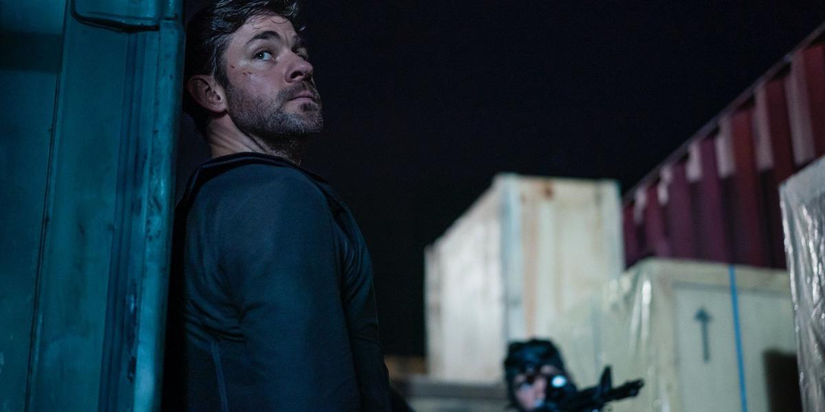 John Krasinski as Jack Ryan in Tom Clancy's Jack Ryan on Amazon Prime.