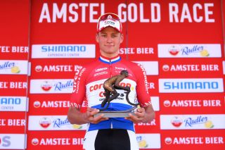 Mathieu van der Poel won 2019 Amstel Gold Race