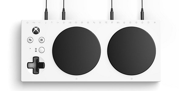 The Xbox Adaptive Controller.