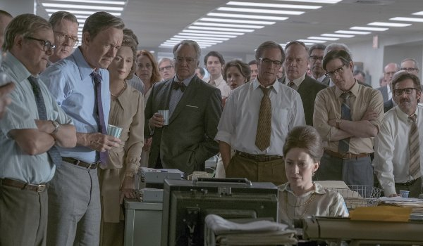 The Post the cast watches the news