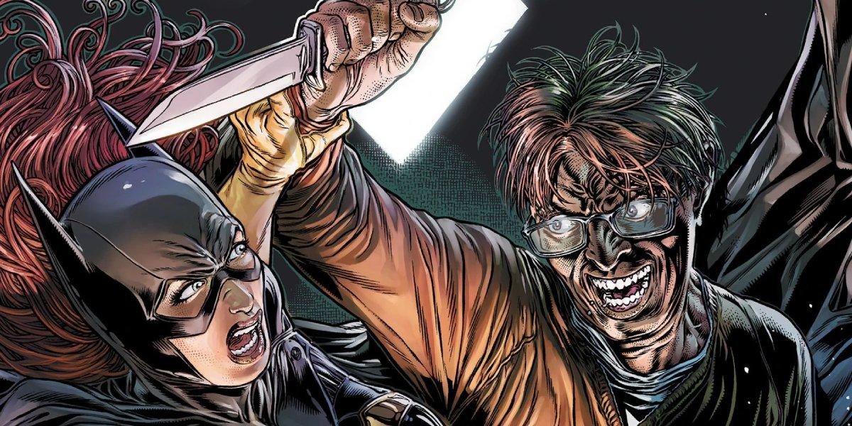 Batgirl and James Gordon Jr.