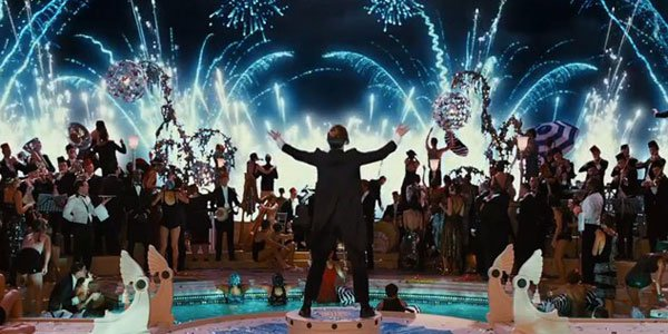 big party fireworks the great gatsby