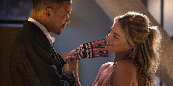 why margot robbie told off will smith during her focus audition