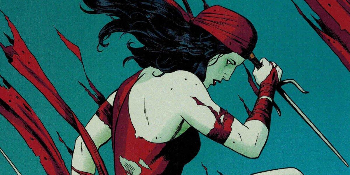 Elektra Natchios from Marvel Comics