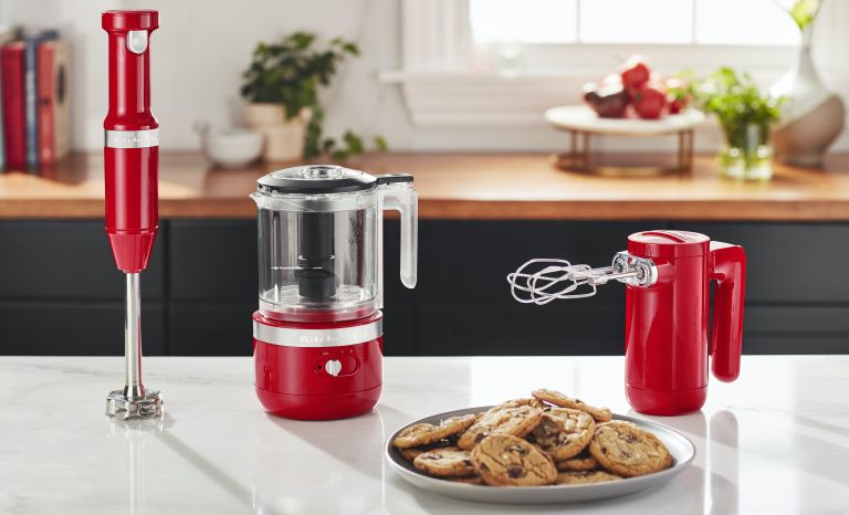 KitchenAid cordless mixer collection