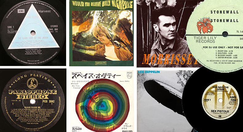 10 Of The Most Collectable And Valuable Vinyl Records