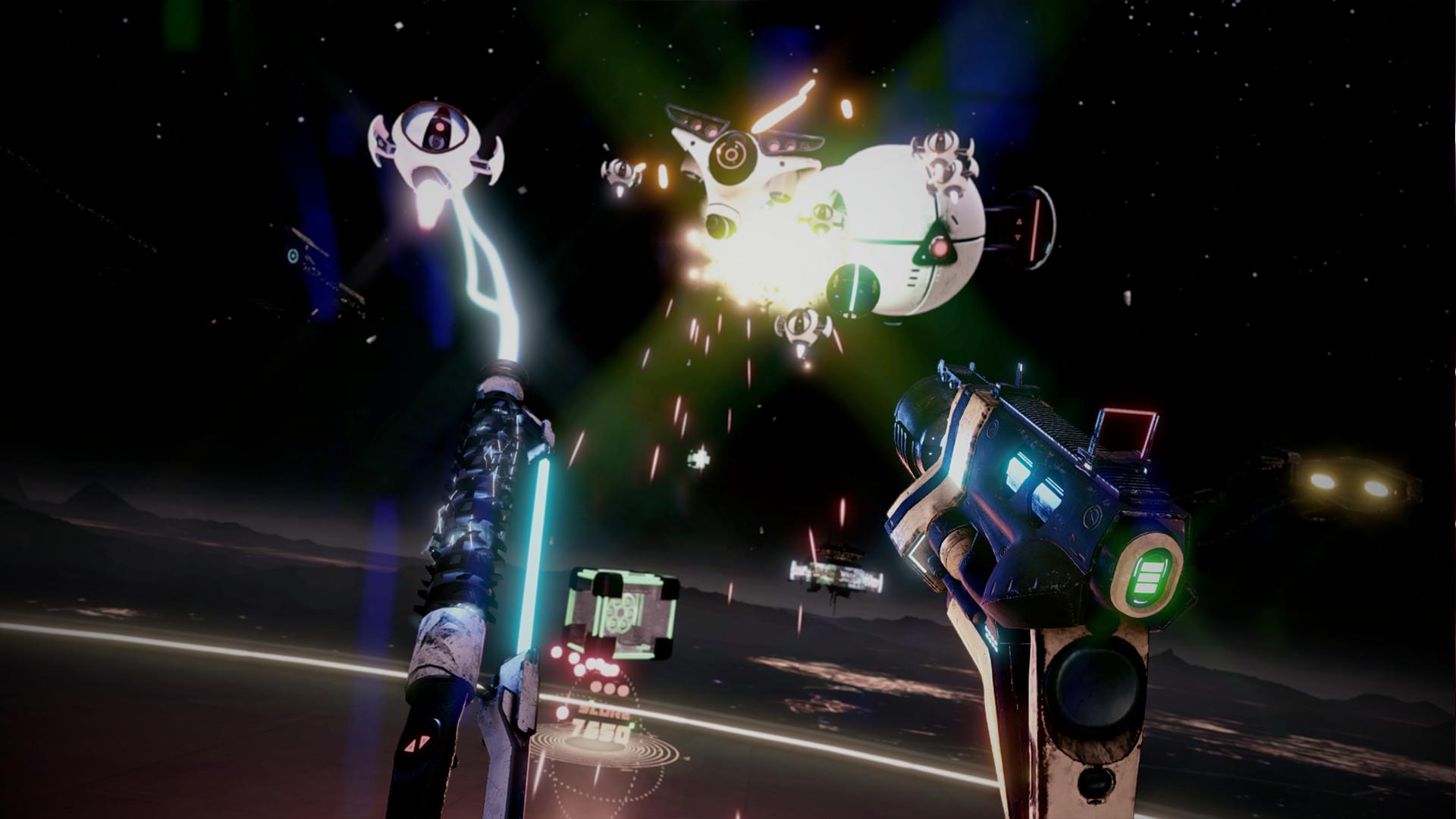 Best Oculus Quest games 2021: space pirate trainer