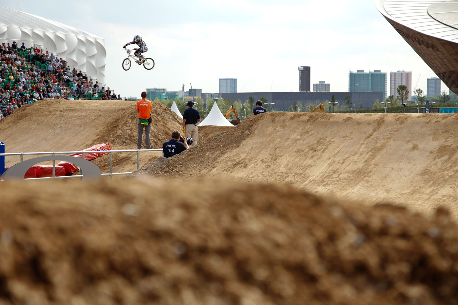 BMX London 2012 test event, Supercross, August 2011