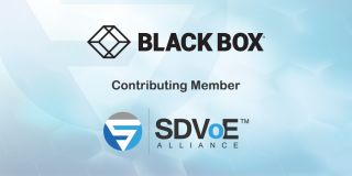 Black Box Joins SDVoE Alliance