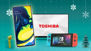 Get a FREE Nintendo Switch or Toshiba TV with a Samsung Galaxy A80, A70 or A40!