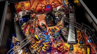 The Legacy Of The Beast pinball table