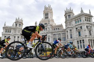 Mitchelton-Scott's Georgia Williams on the final stage of the 2020 Madrid Challenge by La Vuelta