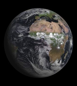 Earth from European Satellite