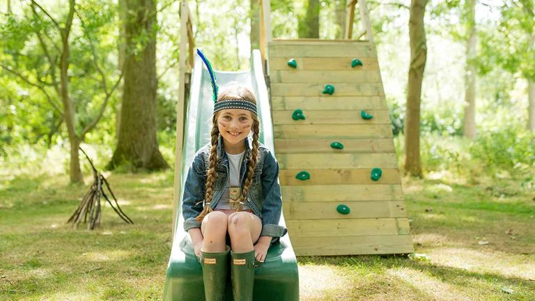 Best climbing frame: Plum Climbing Pyramid Wooden Play Centre