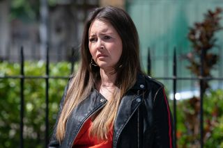 Stacey discovers the truth in EastEnders