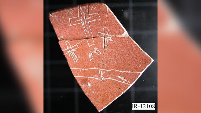 One artifact was said to show the earliest depiction of the Christian crucifixion, but experts said its iconography was much later than its supposed date in the third century A.D.