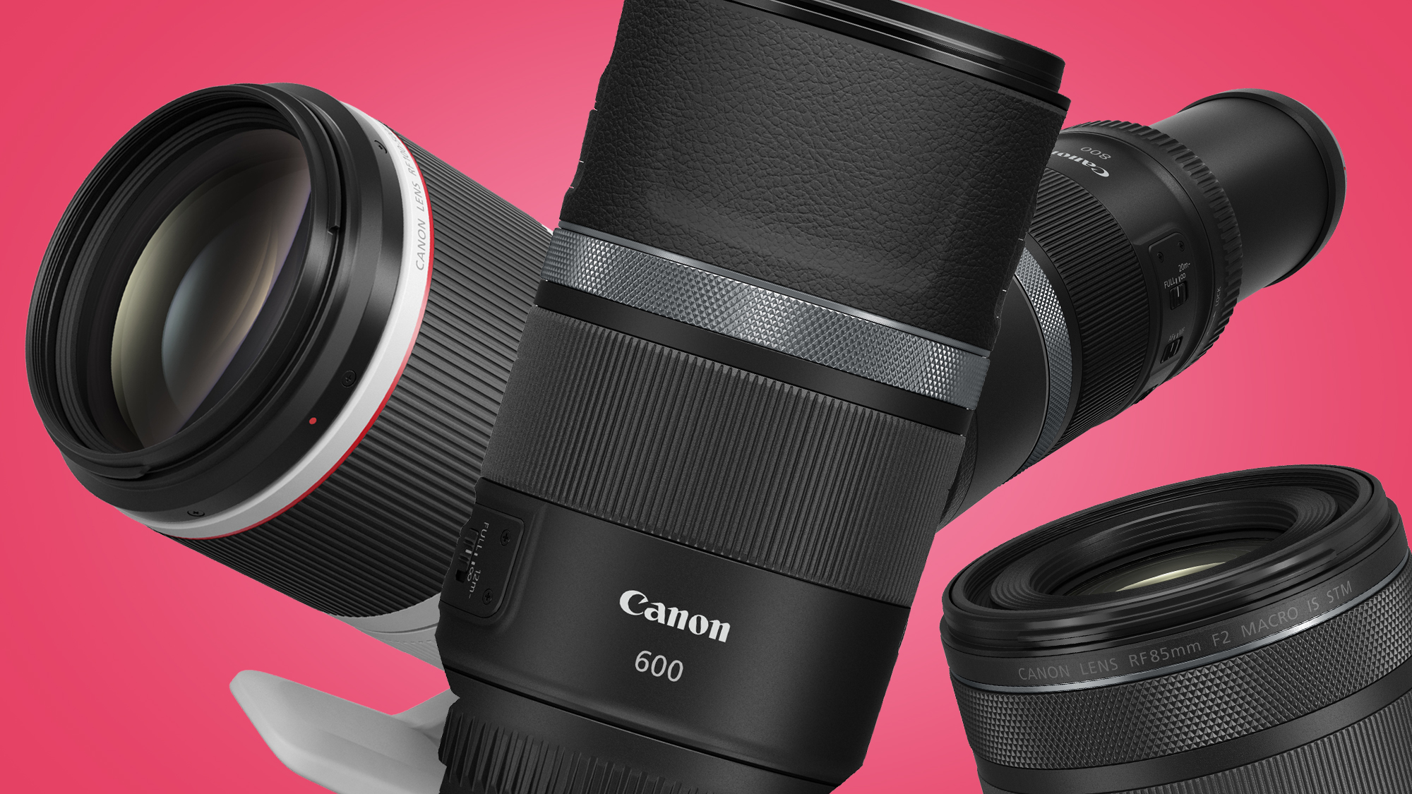 Canon announces four new RF lenses – here are our early hands-on thoughts