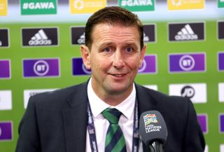 Northern Ireland v Norway – UEFA Nations League – Group 1 – League B – Windsor Park